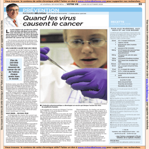 2008-10-20 Quand les virus causent le cancer