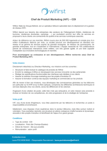 Chef de Produit Marketing (H/F) – CDI