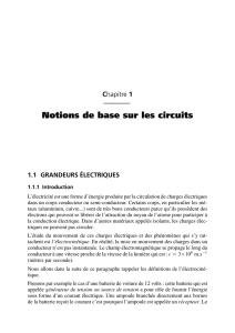 Electricite generale - Analyse et synthese des circuits