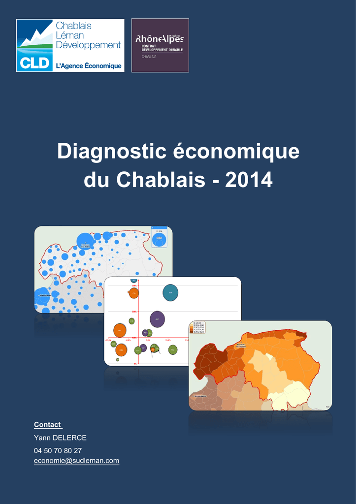 Diagnostic économique du Chablais - 2014 - Saint-Paul-en 29b527f6e34