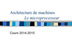 Architecture de machines - Fichier