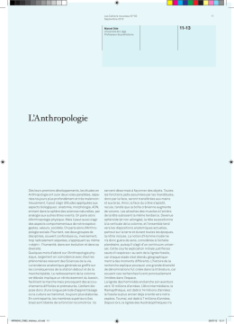 L`Anthropologie