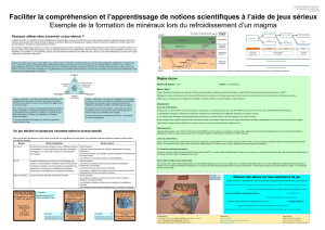 Faciliter la compréhension et l`apprentissage de notions