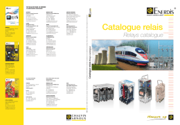 Catalogue relais