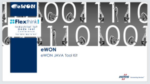 eWON JAVA Tool Kit