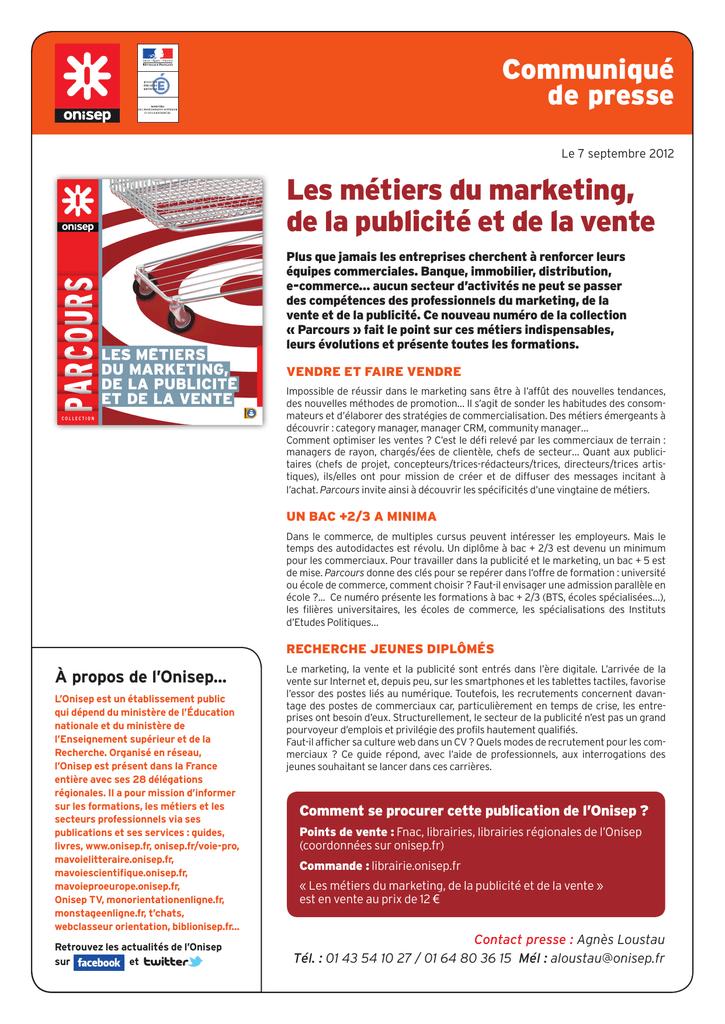 46f85127bdc Les métiers du marketing