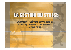 cours8 power point gestion du stress
