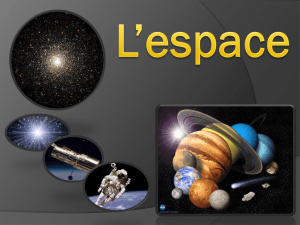 Espace - 1 Introduction