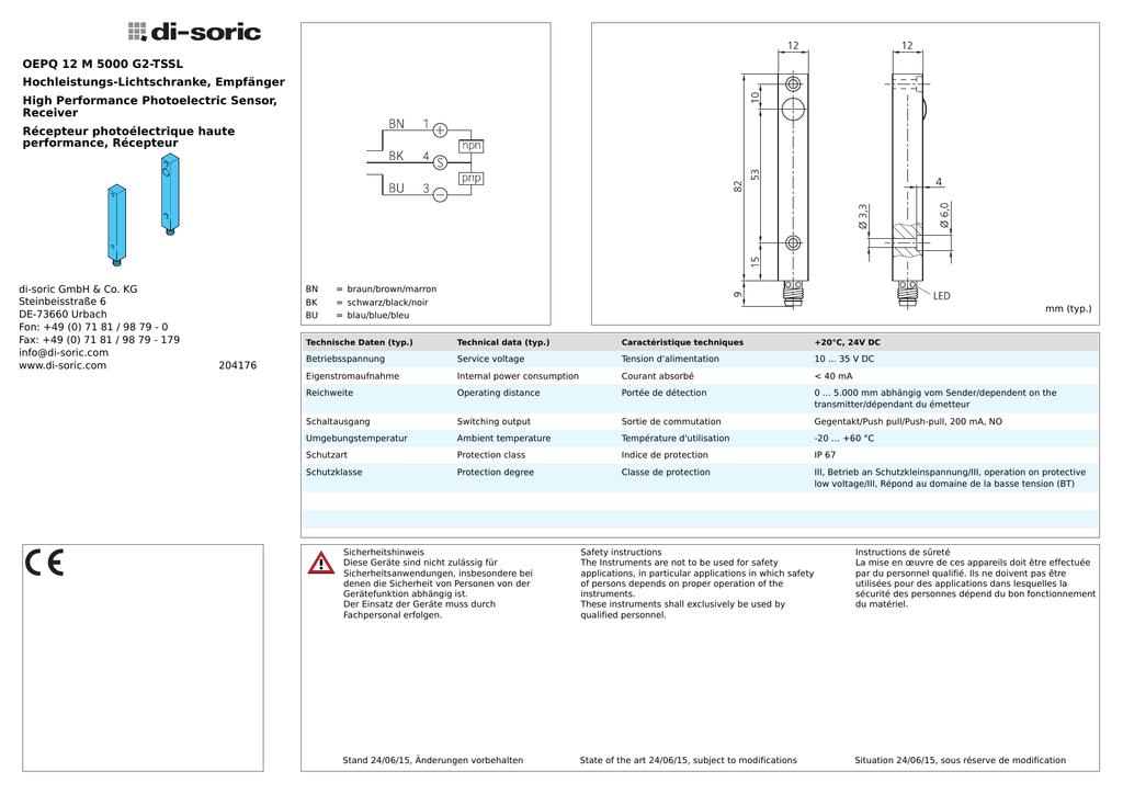 3,5/mm bis IR-Empf/änger