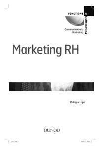 Le marketing RH : une approche simple, un enjeu stratégique