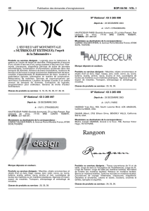 Bulletin Officiel De La Propriete Industrielle Marques Fabrique