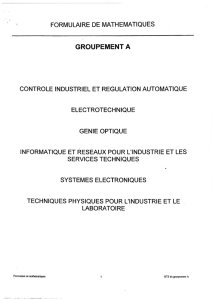 groupement a