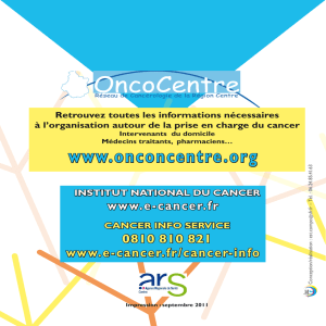 Octobre - OncoCentre