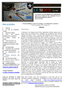 Le Sioux N°34 - Promotions EMIA