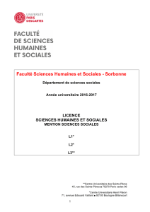 Brochure LICENCE Sciences sociales 16-17