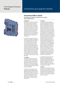 (fr) 250 | SensoTrans DMS A 20220 Description du produit