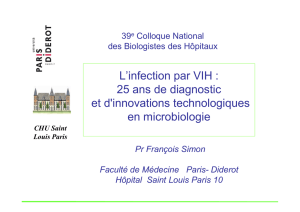 Innovations technologiques en microbiologie