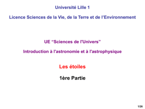 III. Classification des étoiles
