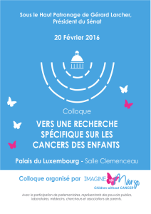 le programme du colloque 2016