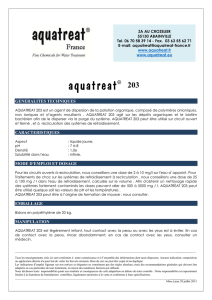 TDF-203 V3 - Aquatreat France