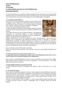 Article 3 - Enseignement catholique