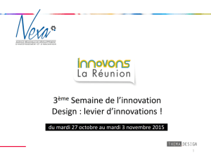 Partie 1 : le design, levier d`innovations