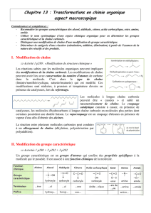 Chapitre 11 Transformations En Chimie Organique Aspect border=