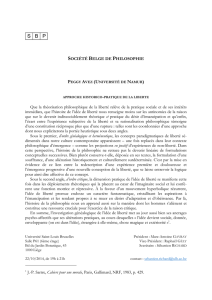 abstract - Société belge de philosophie