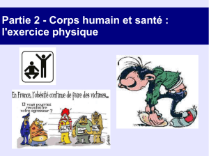 l`exercice physique