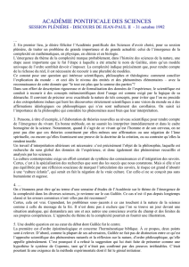 académie pontificale des sciences