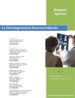 Rapport Spécial - Clinique TAGMED