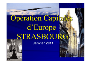 OCE Strasbourg - Operation Capitals of Europe
