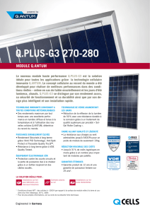 Hanwha Q CELLS Data sheet QPLUS-G3 270-280