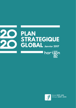 plan strategique - Clinique Saint Jean