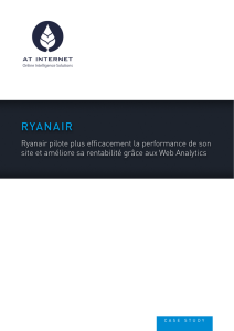 Ryanair pilote plus efficacement la performance de son