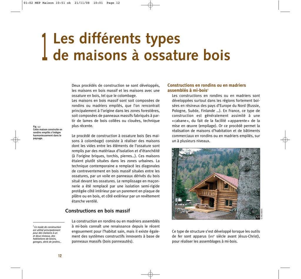 Maison Ossature Bois Suede construction des maisons a ossature bois