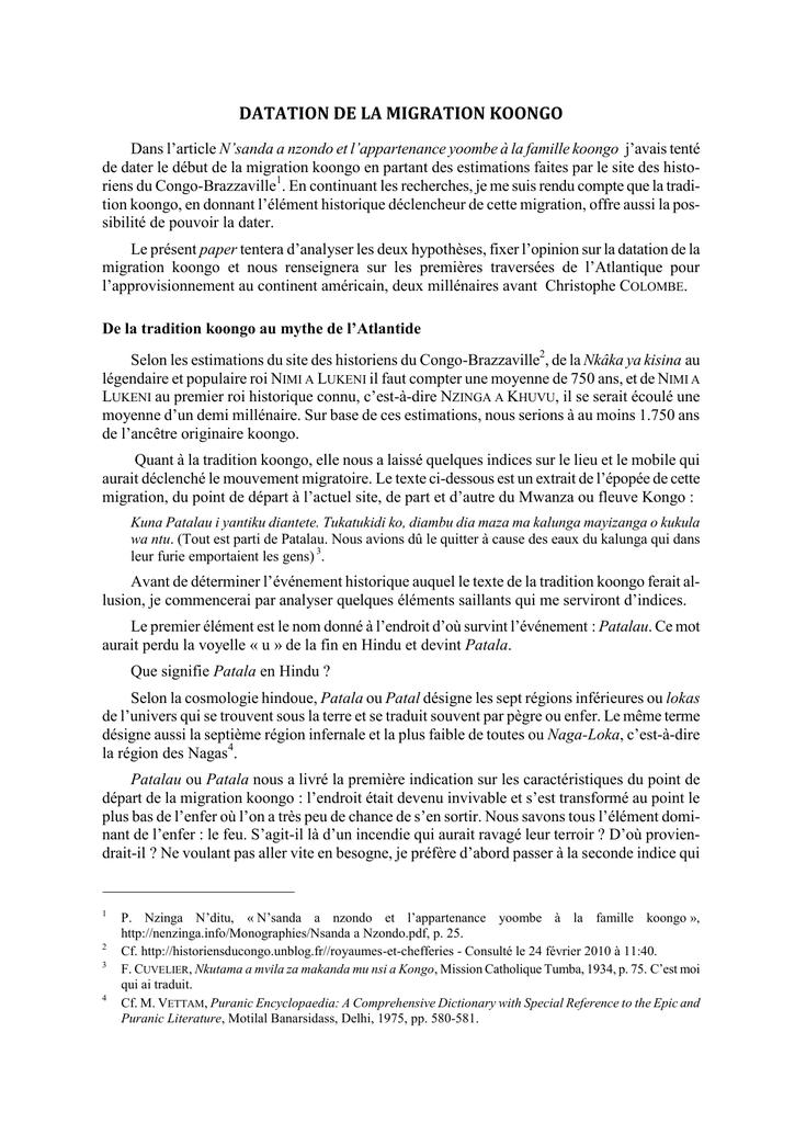 Événements de datation hindoue