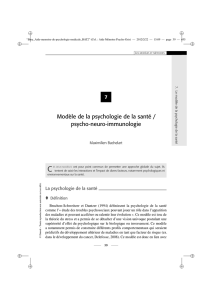 [ Health psychology / psycho-neuro