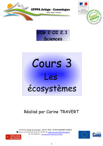 Cours 3 - CFPPA Ariège Comminges