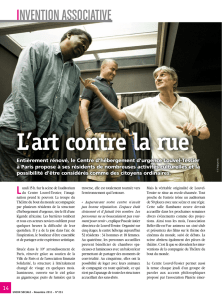 L`art contre la rue