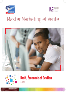Master Marketing et Vente