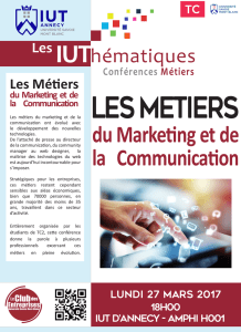 du Marketing et de la Communication