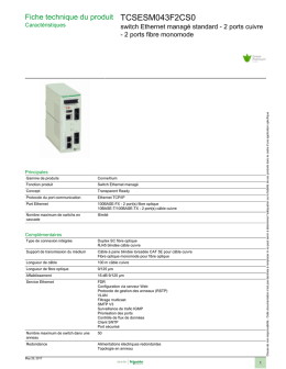 tcsesm043f2cs0 - Schneider Electric