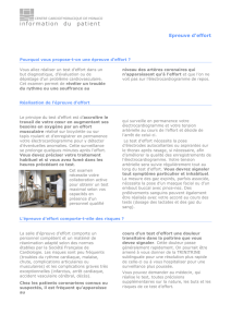 information du patient - Centre Cardio