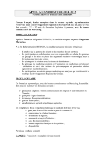 Profil Ingénieur Marketing Groupe X OK