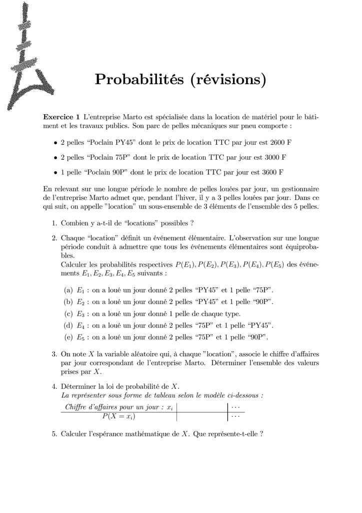 Ds4 Revisions Probabilites