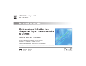 N° 3 - Publications du gouvernement du Canada