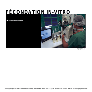 fécondation in-vitro