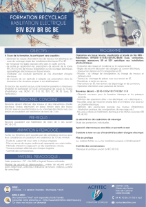 7 - Formation RECYCLAGE HE B1V B2V BR CE BE