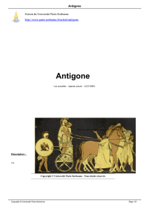 Antigone - Université Paris